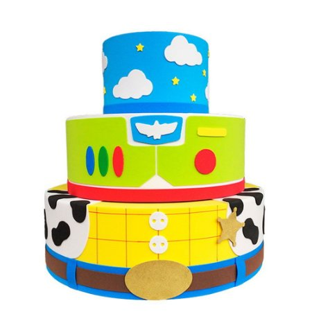 Bolo Fake Decorativo Toy Story