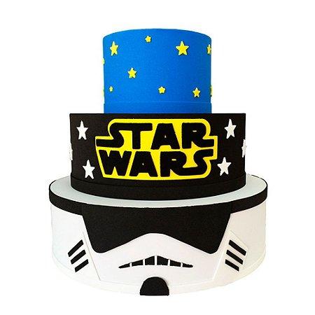 Bolo Fake Decorativo Star Wars