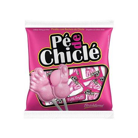 Pirulito Pé de Chiclé Tutti Frutti - 60g
