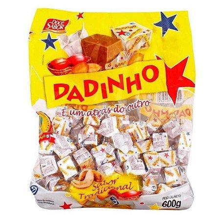 Dadinho Tradicional Bala Doce de Amendoim - 600g