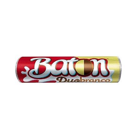 Chocolate Baton Garoto Duo Branco 16g - 1 Unidade