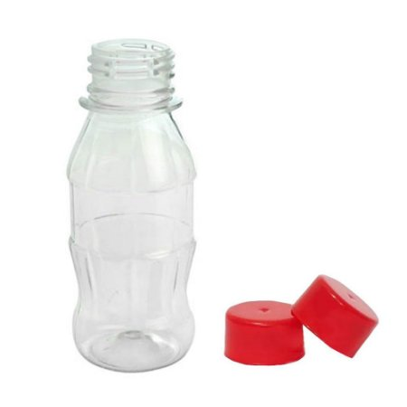 150 Garrafinha Mini Coca Tampas Plásticas - Informe as Cores