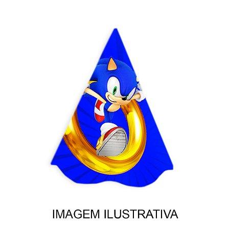5 Chapéus de Festa Sonic