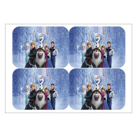 12 Adesivos Frozen para Marmitinha 240ml