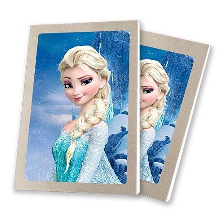 5 Bloquinhos de Papel 25 Folhas Frozen
