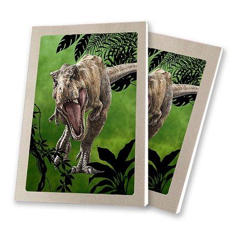 5 Bloquinhos de Papel 25 Folhas Dinossauros