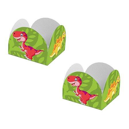 20 Forminhas de Doces Caixeta Dinossauros Baby