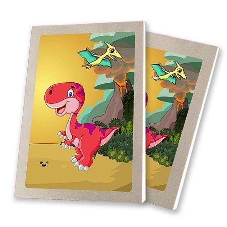5 Bloquinhos de Papel 25 Folhas Dinossauros Baby