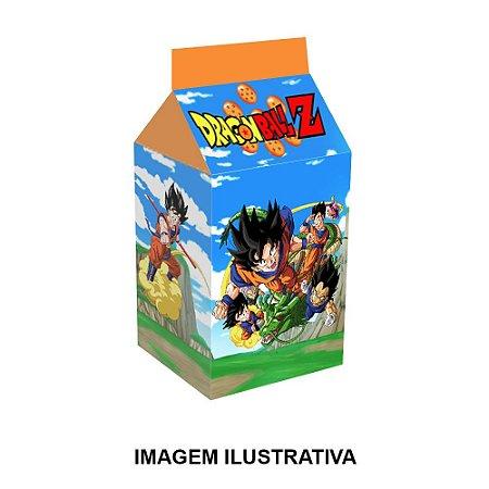 5 Caixinhas Milk Dragon Ball Para Lembrancinha