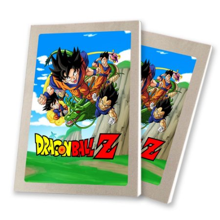 5 Bloquinhos de Papel 25 Folhas Dragon Ball