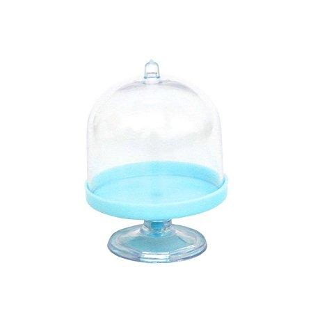 Mini Cúpula Acrílica Azul - 48 Unidades