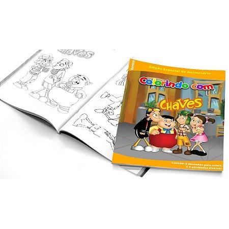 5 Cadernos de Colorir Chaves