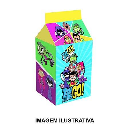 5 Caixinhas Milk Teen Titans Para Lembrancinha