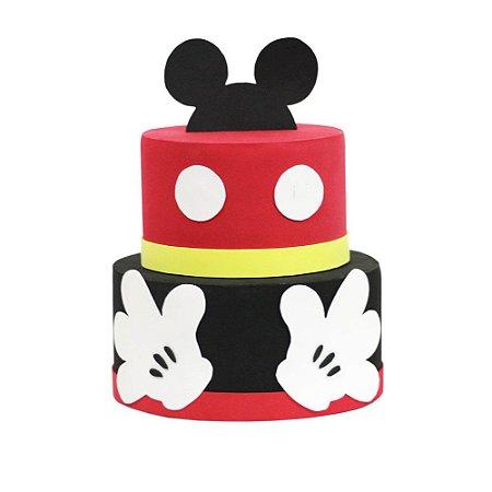 Bolo Fake Decorativo Mickey Modelo 3