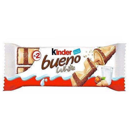 Chocolate Kinder Bueno White 39g - 1 Unidade