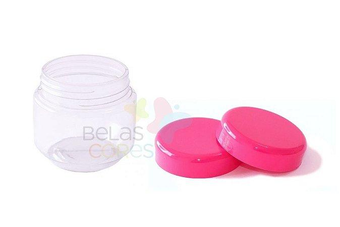Pote de Papinha de Plástico 120gr - Pink - 10 Unids