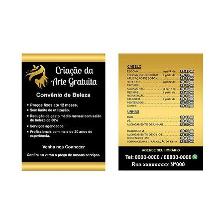 Panfleto 14x20 cm Frente e Verso 90g - 1000 Unidades