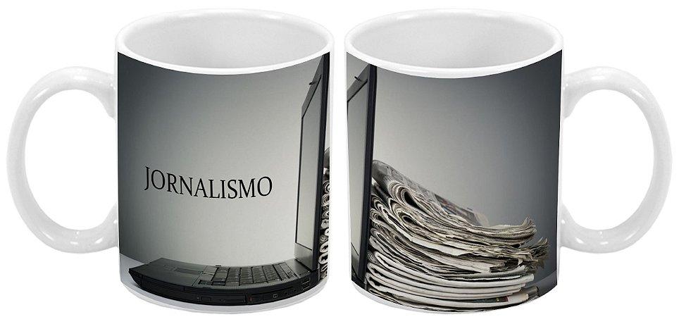 Caneca Profissão 300 ml Jornalismo - 1 unidade