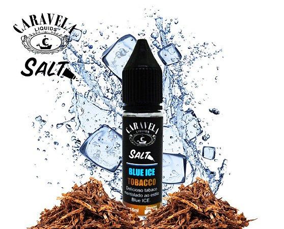E-Liquid Nic Salt Blue Ice Tobacco | Caravela