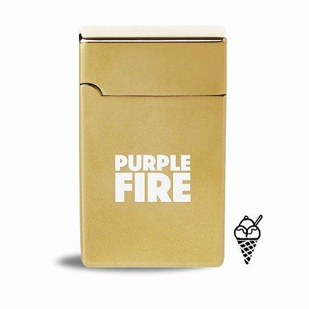 Isqueiro Elétrico Aromas | Purple Fire