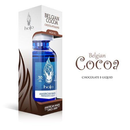 E-Liquid High-Vg Belgian Cocoa - Halo