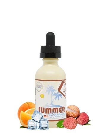 E-Liquid Summer Holidays Flip Flop Lychee (60ml) - Dinner Lady