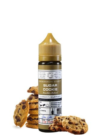 E-Liquid Basix Sugar Cookie (60ml) - Glas