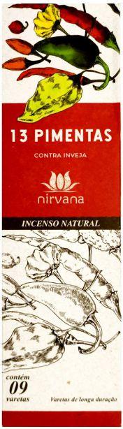 INCENSO NATURAL 13 PIMENTAS
