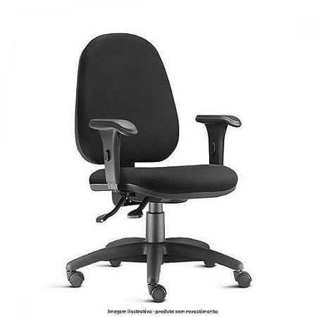 Cadeira Escritório Home Office Paris Presidente Ergonomica C/ Braços