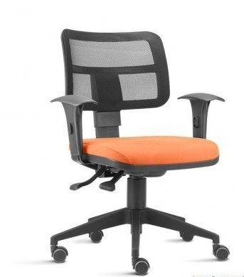 Cadeira Escritório Home Office Executiva Zip Ergonomica Giratória Braços Regulaveis