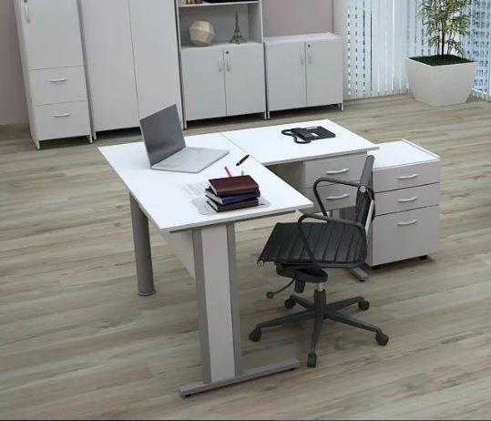 Mesa Escritório Em L Home Office 1,50 X 1,50 M 15 Mm