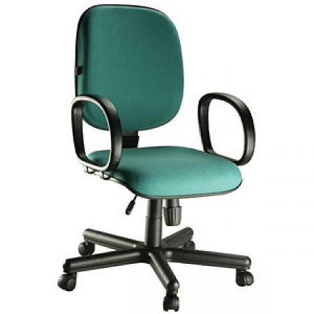 Cadeira Para Escritório Home Office Braço Fixo Diretor Relax