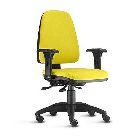 Cadeira Escritório Corporativa Presidente Sky Ergonômica Home Office Braços Regulaveis