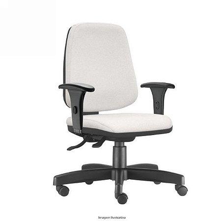 Cadeira Presidente Home Office Job Ergonômica Corporativa Braços Reguláveis Giratória