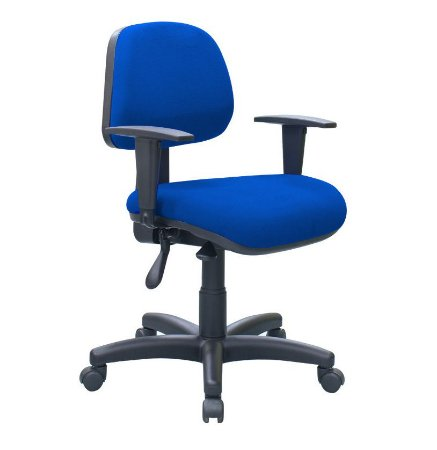 Cadeira Escritório Home Office Braços Regulaveis Ergonômica Giratória Nr 17 Rhodes Call Center
