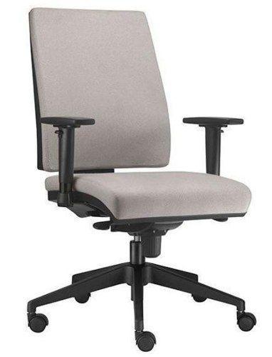 Cadeira Escritório Giratória Ergonômica Simple Braços Reguláveis Home Office Presidente