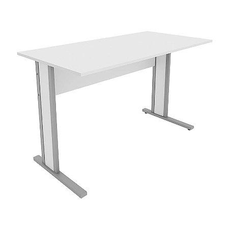 Mesa para Escritório Home Office Reta 0,80 X 0,60 M 15 Mm Escrivaninha