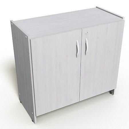 Armário Baixo 2 Portas Fechado Móveis Escritório Home Office 0,80 X 0,37 M
