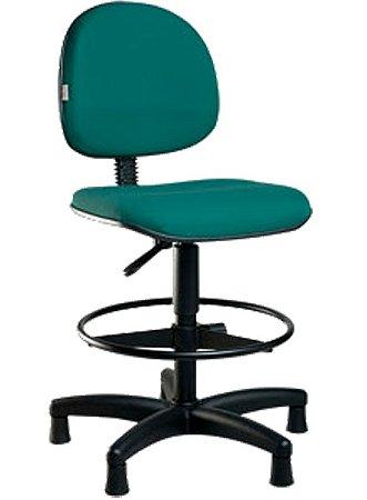 Cadeira Escritório Caixa Alta Aro Industrial Portaria Balcão Atendimento