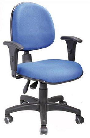 Cadeira Para Escritório Executiva Giratória Ergonômica Braços Reguláveis Home Office