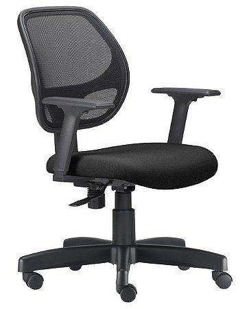Cadeira para Escritório Giratória Job Tela Mesh Executiva Relax