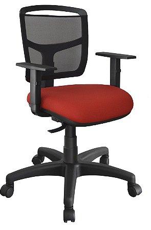 Cadeira Home Office Ergonômica Tela Executiva Escritório Giratória Fire