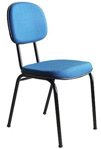 Cadeira Secretária Fixa Home Office Aproximação 4 Pés