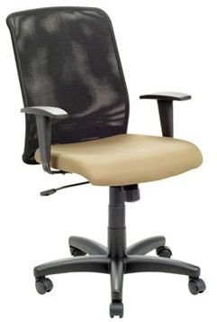 Cadeira para Escritório Simple Diretor Relax Giratória Home Office Tela Mesh Corporativa