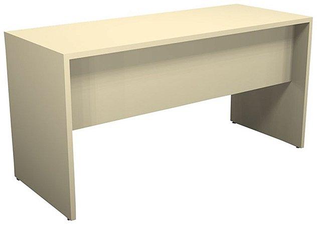 Mesa para Escritório Reta Pé Painel 18 mm 1,20 x 0,60 m Secretária