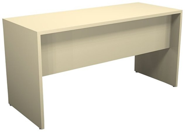 Mesa para Escritório Reta Pé Painel 18 mm 1,60 x 0,60 m Home Office