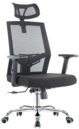 Cadeira para Escritório Presidente Giratória Home Office Braços Regulaveis Relax