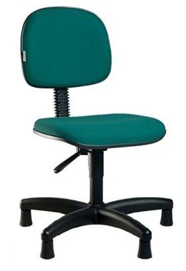 Cadeira Para Costureira Secretária Giratória Escritório Sapatas