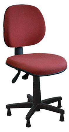 Cadeira para Costureira Executiva Ergonômica Giratória Sapatas