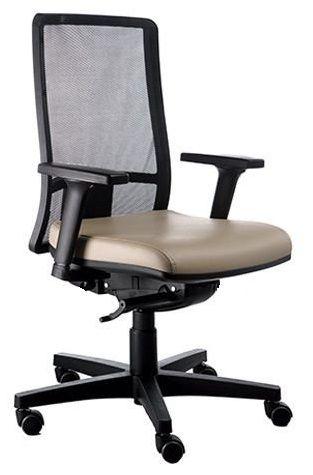 Cadeira Escritório Diretor Manager Giratória Ergonômica Corporativa Passion Tela